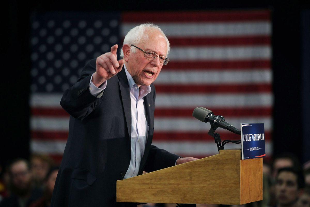 El senador Sanders señala que su partido está enfocado en ganar la elección.