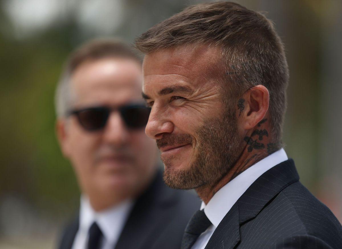 El astro inglés y propietario del Inter de Miami, David Beckham, en una imagen de archivo.