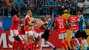 VIDEO: ¡Se dieron con todo! Con 8 expulsados terminó el clásico entre Gremio e Inter