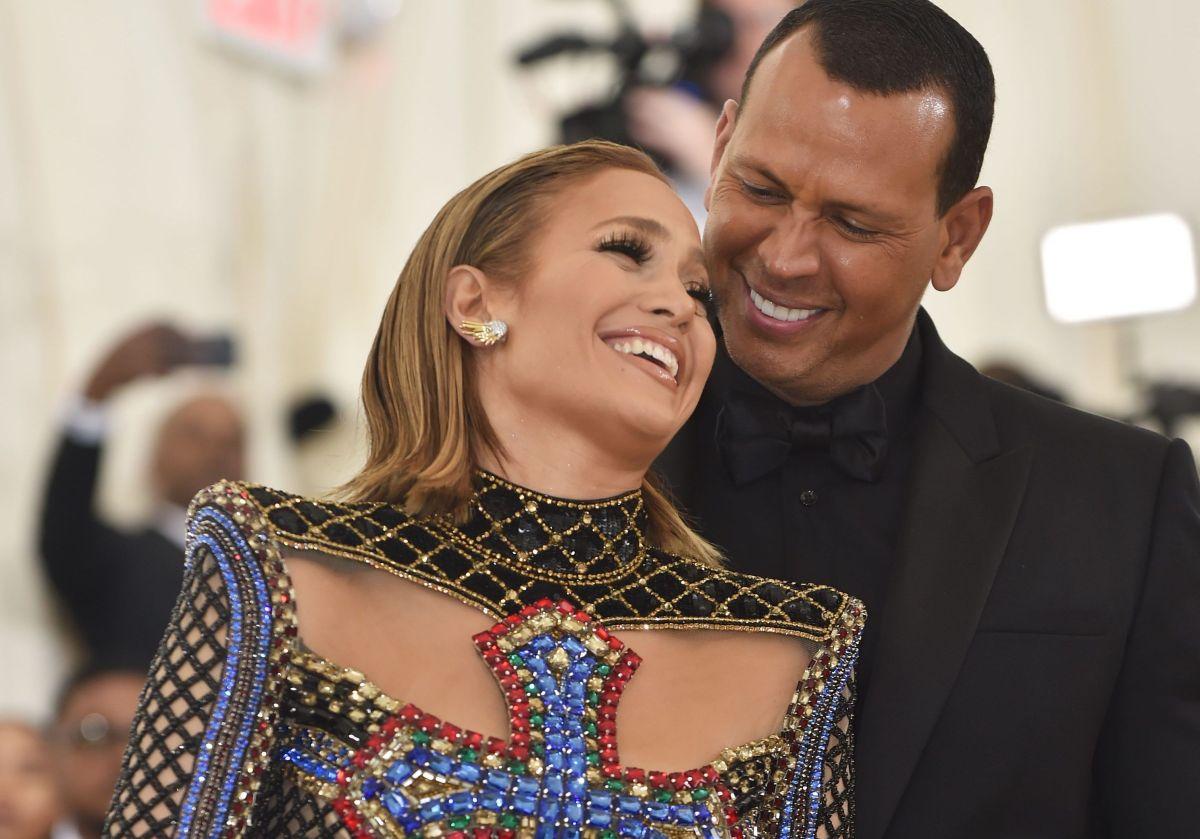 Jennifer López and Alex Rodriguez