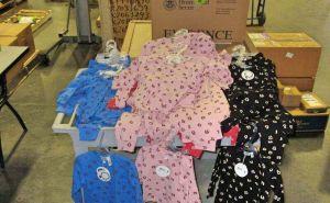 Decomisan unas pijamas infantiles muy ardientes