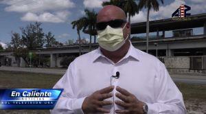 Suspenden a un guardia de seguridad de Miami por llevar mascarilla para protegerse del coronavirus