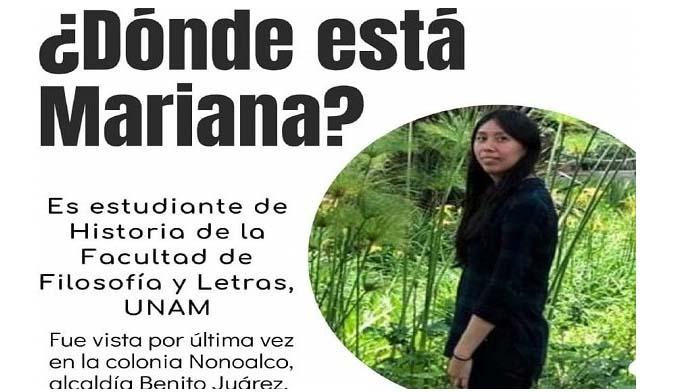 Estudiante de la UNAM desaparecida es hallada muerta en hotel de Ciudad de México