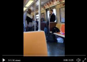 Coronavirus es la nueva causa de discriminación: graban agresión a pasajero asiático en Metro de Nueva York