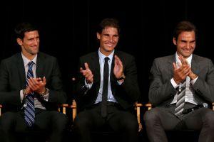 ¿Alguien dijo rivales? Nadal, Federer y Djokovic tienen grupo de WhatsApp