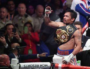 """Manny Pacquiao advierte que la pelea contra Ryan García no está cerrada y que """"sería como exhibición"""""""