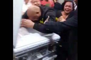Narco dominicano Pascual Cordero sale de la cárcel a despedir a su hijo acribillado por sicarios