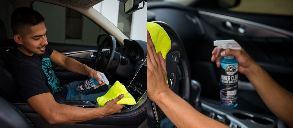 Los mejores 5 productos para desinfectar los asientos y el interior de tu auto