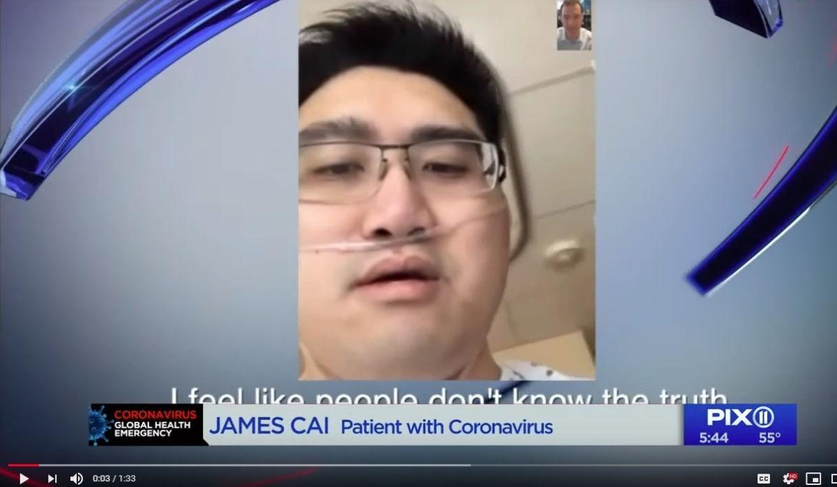 """""""No puedo morir"""": primer paciente de NJ con coronavirus piensa en su bebé de 2 años y critica la atención médica"""