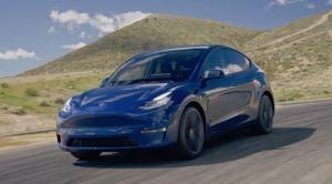 Imágenes del lujoso interior de un Tesla Model Y