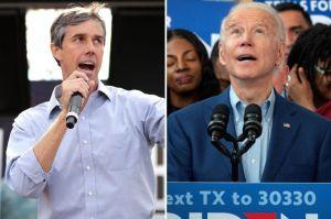 Beto O'Rourke aparece en acto de Biden y pide en español el voto para el exvicepresidente