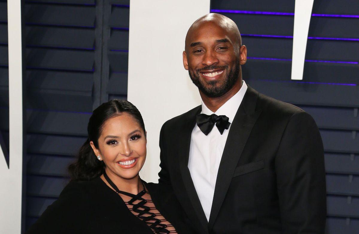 Kobe Bryant y Vanessa.