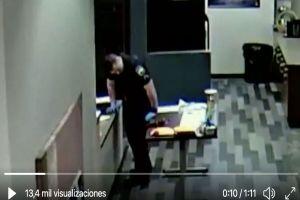 VIDEO: Policía estadounidense colapsa al manipular fentanilo cuando recababa evidencia