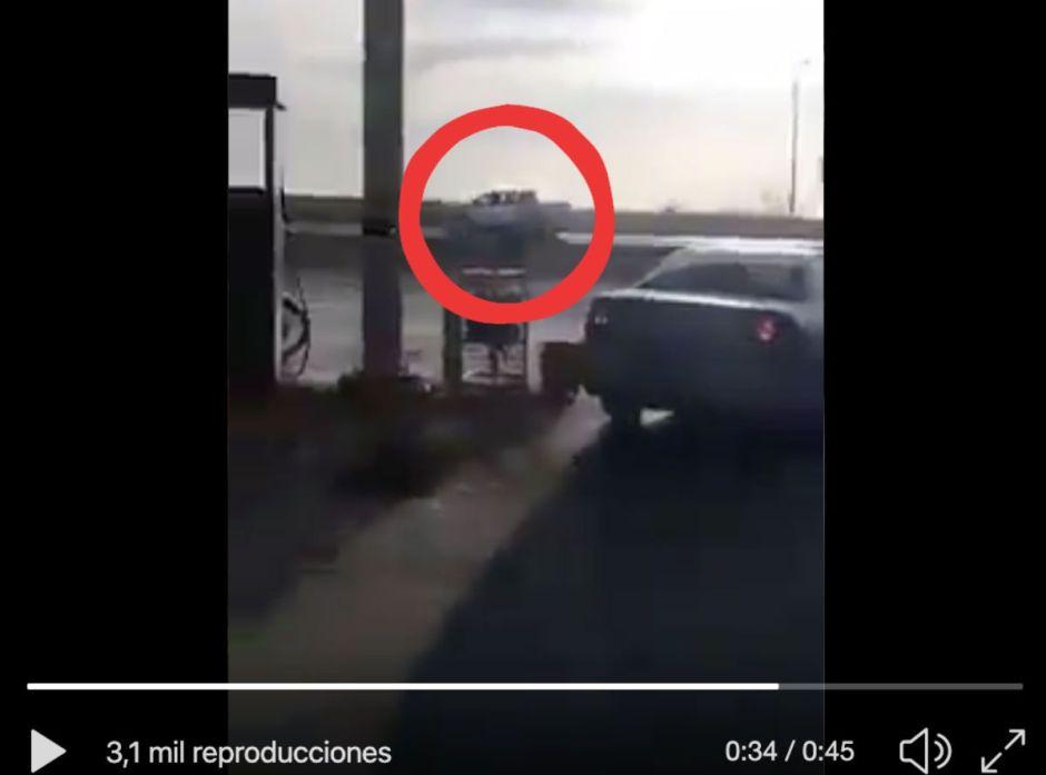 VIDEO: Tropa del Infierno del Cártel del Noreste balea a Guardia Nacional en Nuevo Laredo