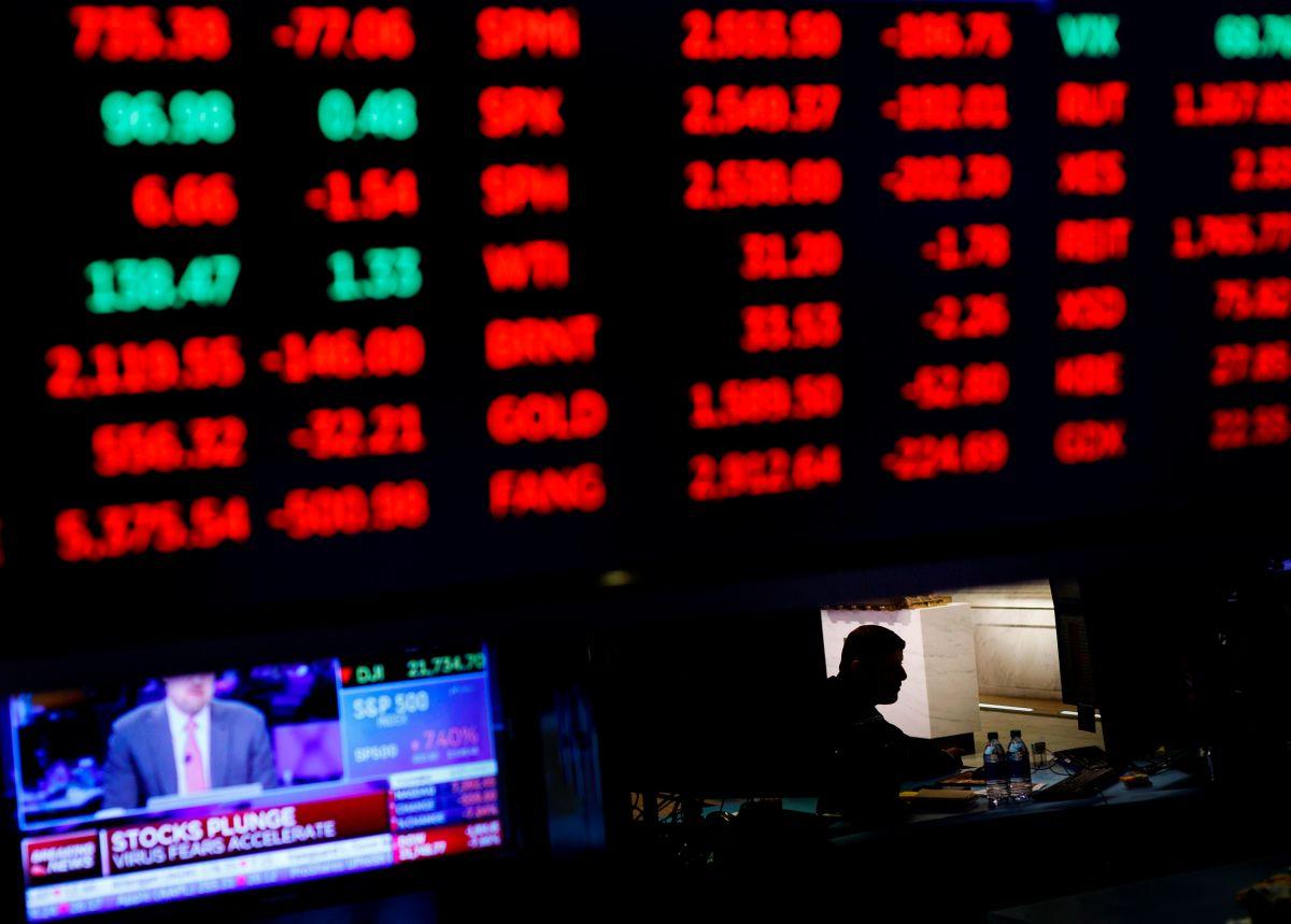 La Fed interviene de nuevo pero el Dow Jones cae un 10%