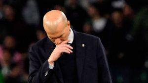 ¿Qué le pasa al Real Madrid? Se derrumba el proyecto de Zidane a media temporada