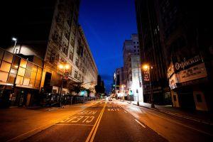 Fotos de la ciudad de Los Ángeles como nunca antes la has visto: vacía