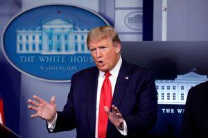 """Trump avanza plan para abrir el país """"incluso antes de lo previsto"""" y responde a reto de gobernadores"""