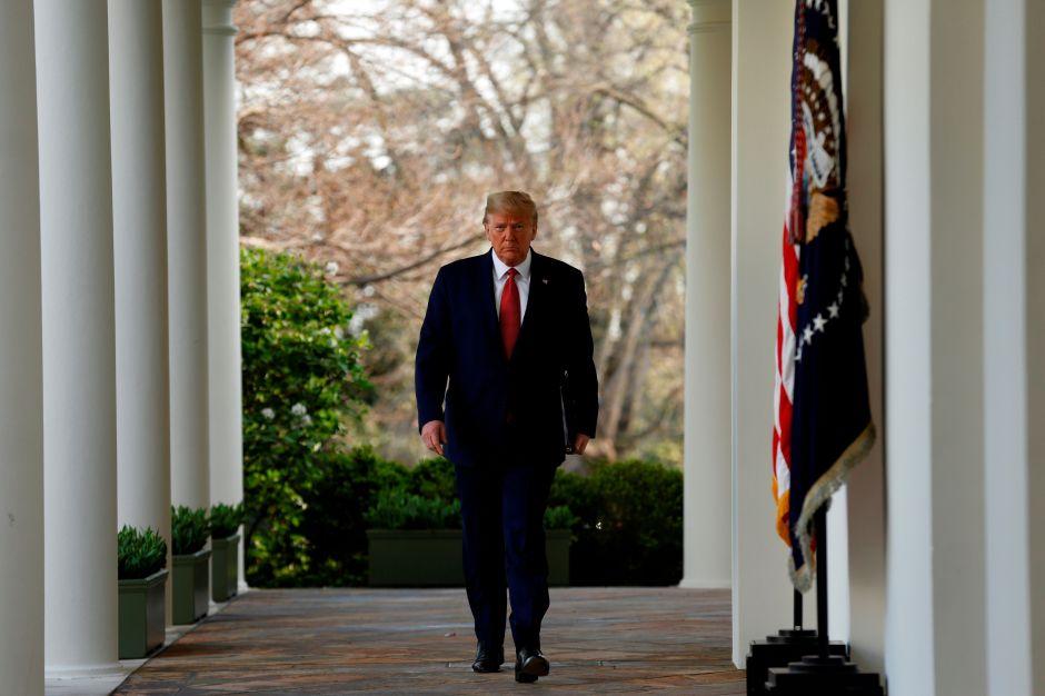 Trump anuncia viaje a Arizona, termina el confinamiento en la Casa Blanca