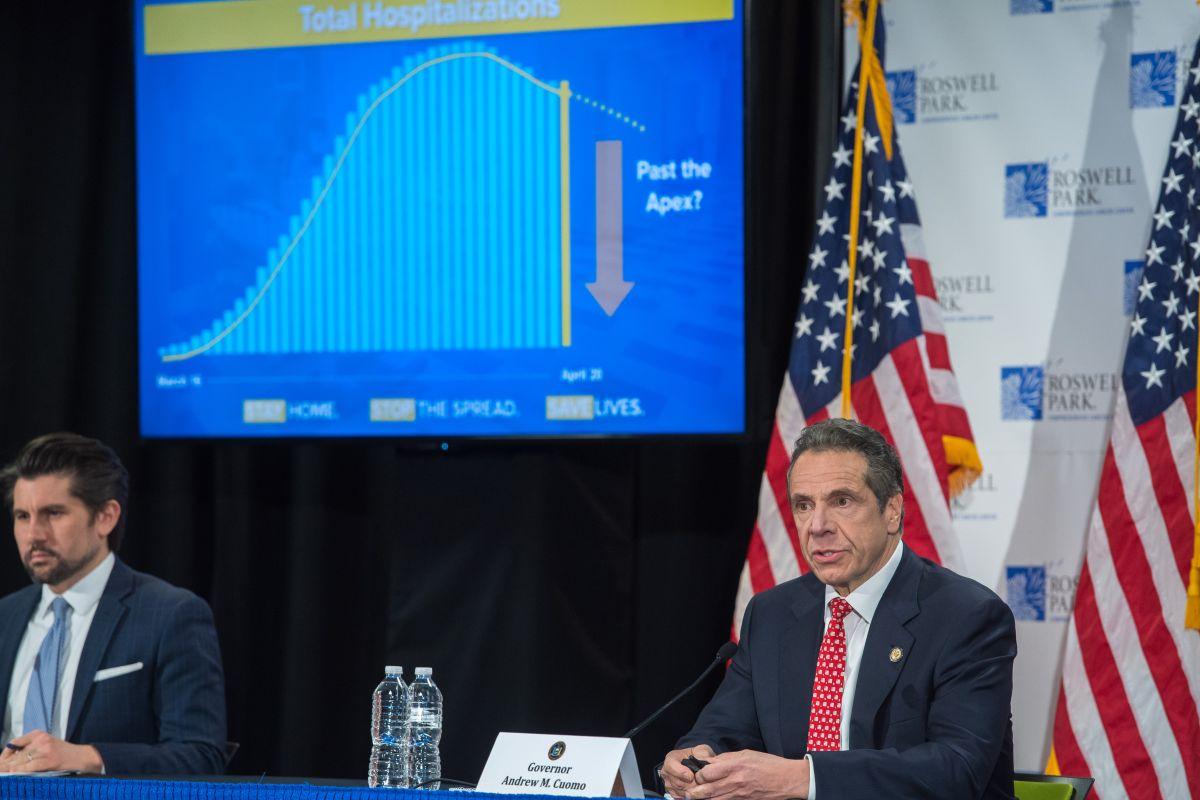 NY registra baja sustancial de nuevas hospitalizaciones por coronavirus en últimas 24 horas