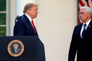 El vicepresidente Mike Pence se salta las reglas hospitalarias y visita sin mascarilla la Clínica Mayo