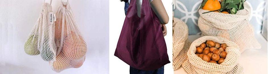 5 bolsas reutilizables que puedes llevar contigo la próxima vez que salgas por suministros