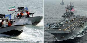 Trump ordena a la Marina destruir cañoneros iraníes que considere hostiles