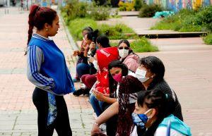 Coronavirus: trabajadoras sexuales de Bogotá reciben ayuda por crisis de COVID-19