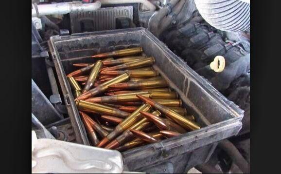 Puro calibre 50, lo que decomisaron a dos jóvenes antes de cruzar a México