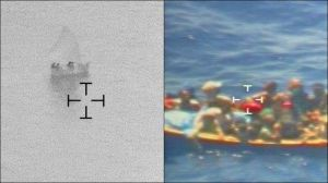 Detectan desde las alturas a migrantes que navegan por el mar del Caribe en balsas y yolas