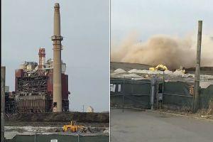 Demolición de planta de carbón cubre de polvo dos barrios latinos en Chicago