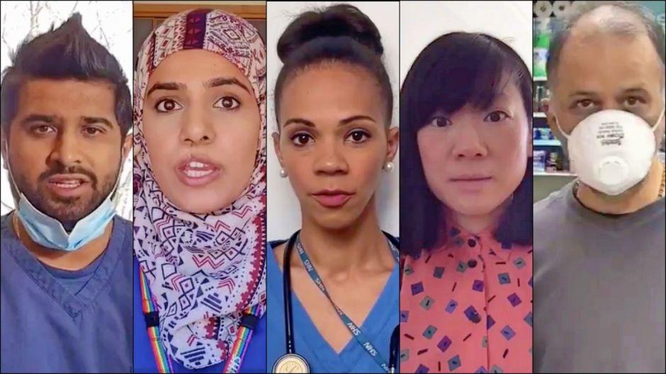 """""""Ahora me aplaudes"""", un poético tributo a los inmigrantes en la lucha contra el coronavirus"""