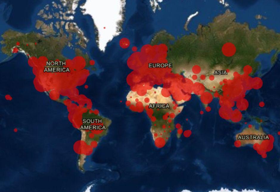 Coronavirus supera el millón de contagios y causa más de 50,000 muertes en el mundo