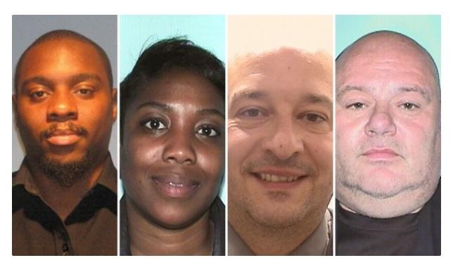 Cuatro policías arrestados por beber alcohol uniformados y luego falsificar el reporte en Nueva Jersey