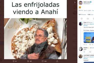 """Las mejores y peores reacciones a las #enfrijoladas de Anahí que """"ofenden"""" la gastronomía mexicana"""