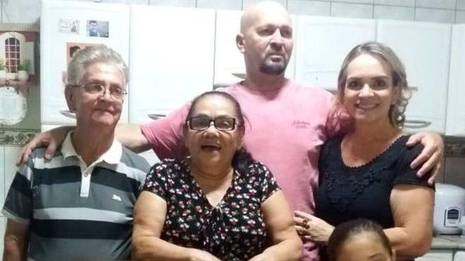 Padres visitaron a su hija y al yerno en Brasil, dos murieron poco después por coronavirus