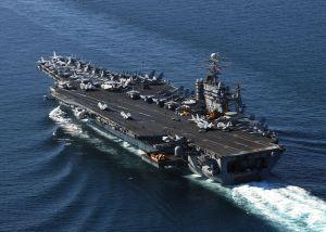 Tripulación de poderoso buque de guerra de Estados Unidos enfrenta contagio de coronavirus