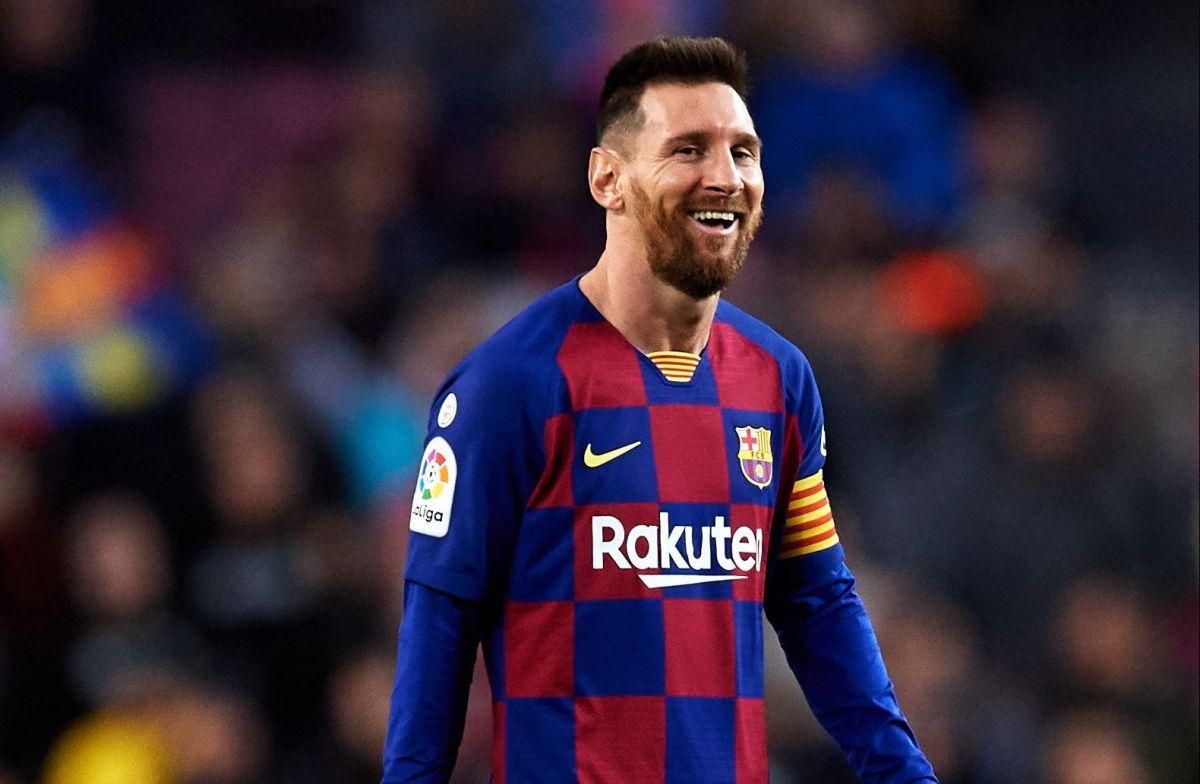 ¡Awww! El hijo de Lionel Messi lo imita después de hacer ejercicio