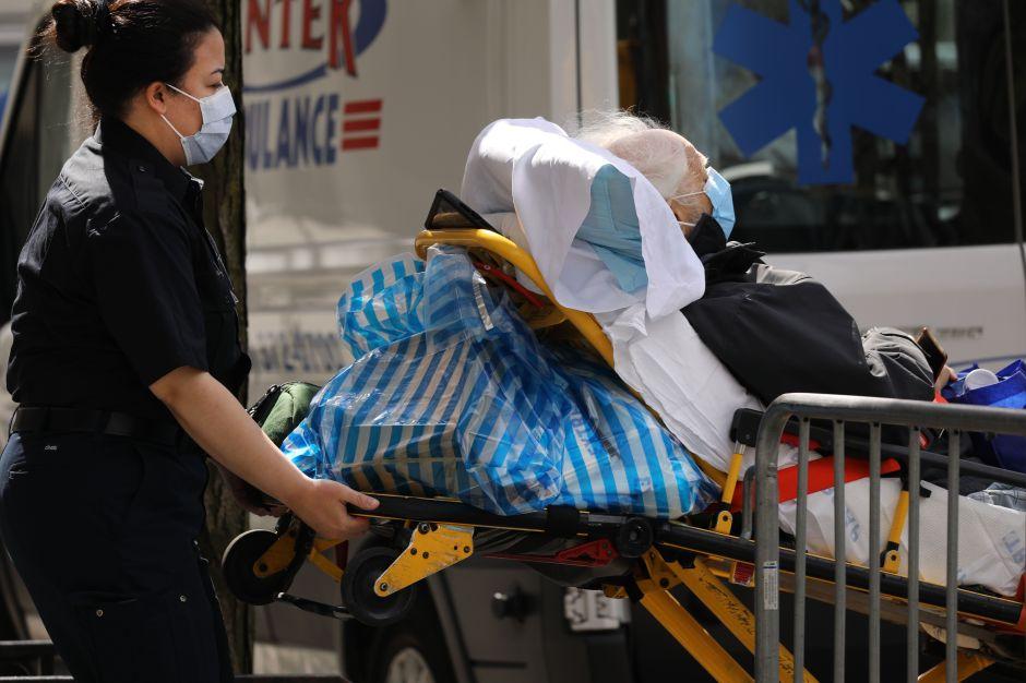 EEUU tiene el peor día de muertes por coronavirus de cualquier país hasta ahora