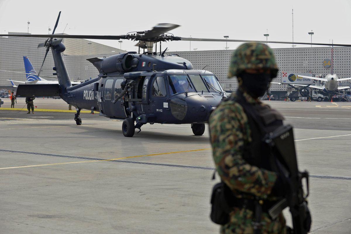México lucha contra el narcotráfico.