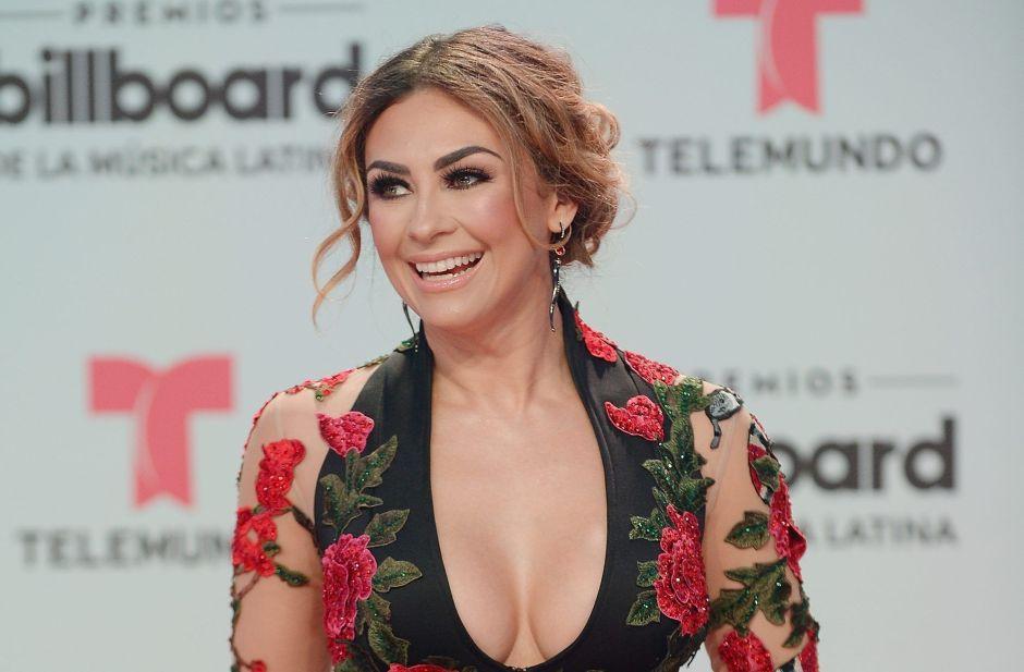 """Aracely Arámbula baila """"La Tusa"""" en transparencias y echa a volar la imaginación de sus fans"""