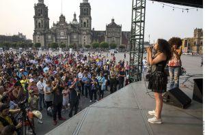 Coronavirus: Gobierno de Ciudad de México organiza karaoke virtual