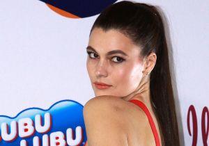 Natália Subtil se quita la chamarra y muestra su sensual ropa interior