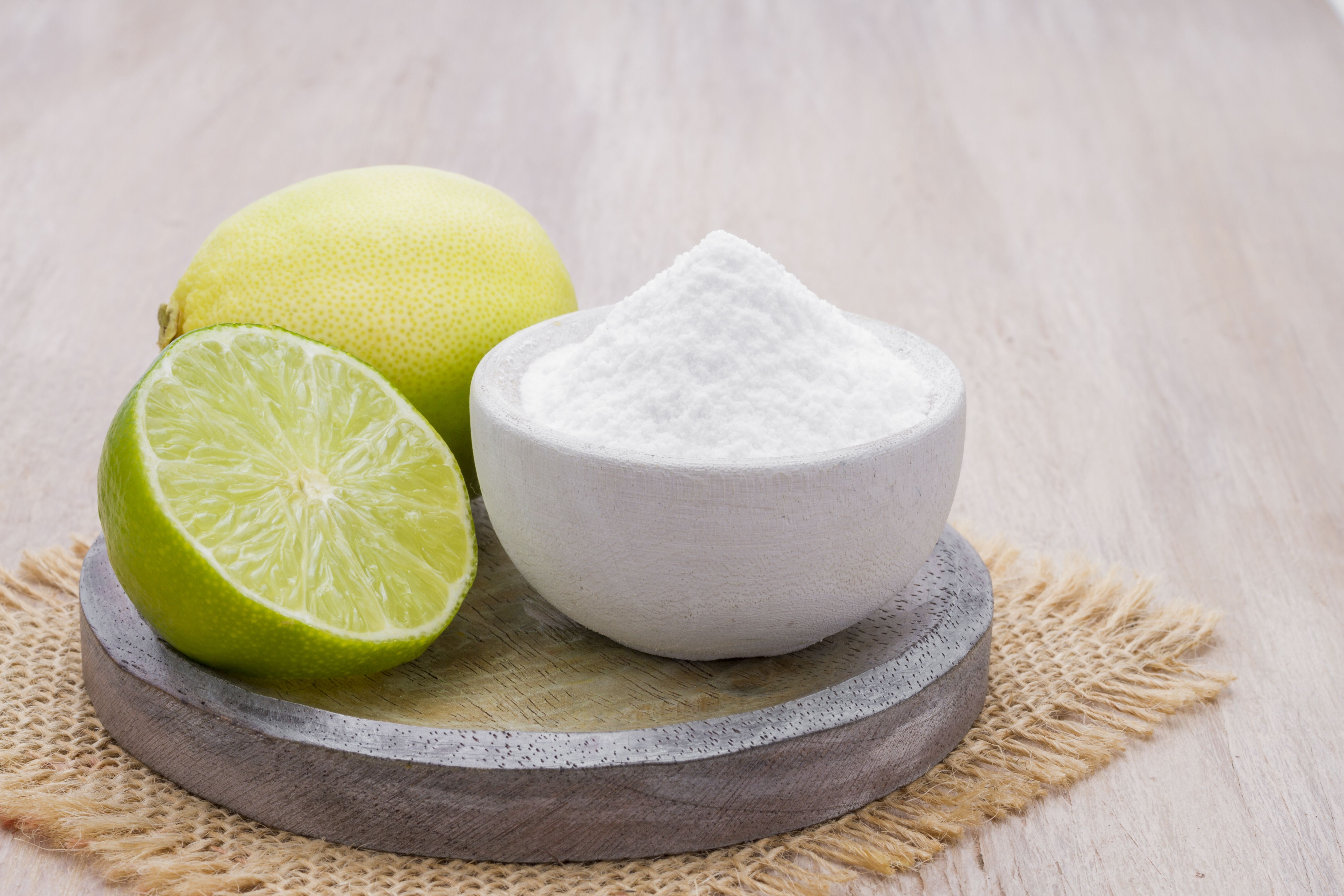 bicarbonato limón