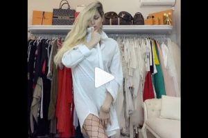 El video de Vicky Xipolitakis sin ropa interior que fue censurado en TikTok