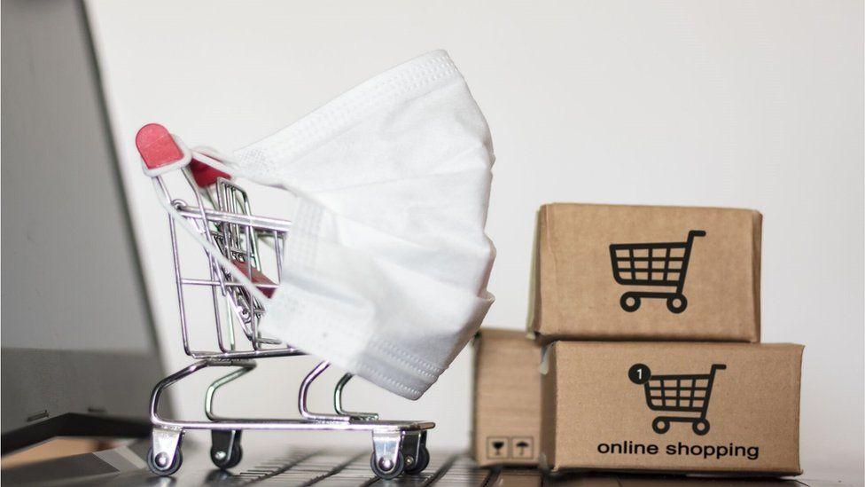 Las compras por internet han experimentado un repunte durante el confinamiento.