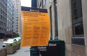 Cancelan programa de taxis gratis para afectados por cierre nocturno del Metro de Nueva York