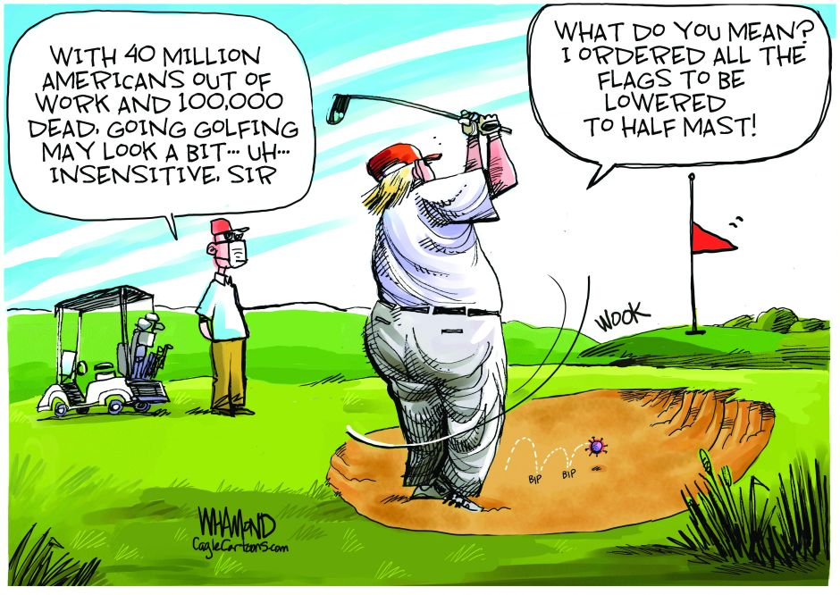 La única cifra que le importa a Trump no tiene que ver con el coronavirus