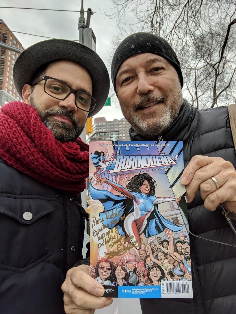 """Artistas y las protestas en Puerto Rico enriquecen nueva novela gráfica de la superheroína """"La Borinqueña"""""""