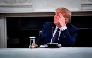 Trump amenaza con cortar definitivamente la financiación a la OMS y con salida de EEUU
